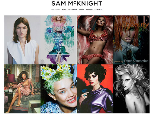 Sam McKnight - Portfolio