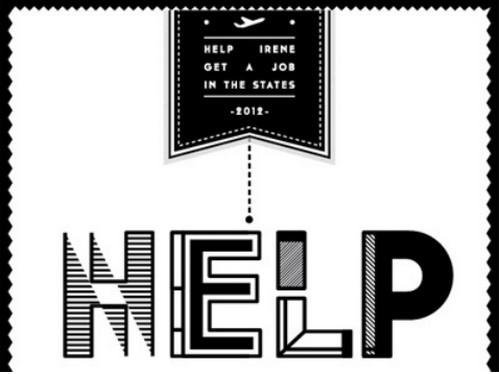 helpirenegetajobinthestates.com by Irene