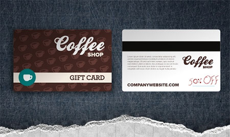 Restaurant Gift Card Template