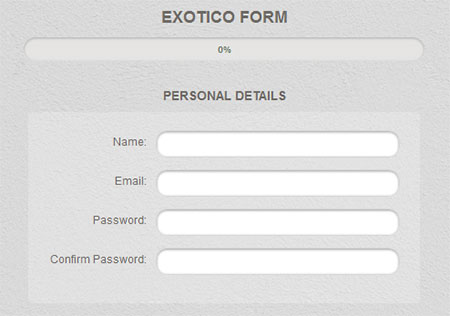 Code an Awesome Registration Form with the Exotico UI Set