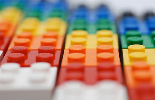 Lego Color Bricks by 713 Avenue
