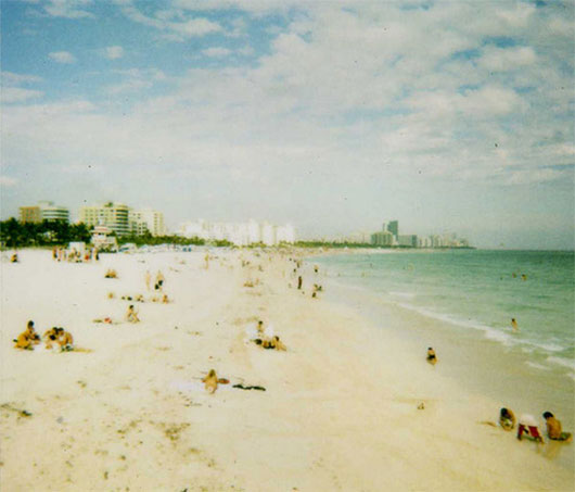 South Beach Polaroid by Phillip Pessar