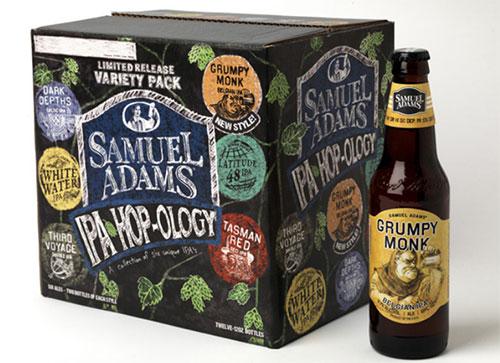 Samuel Adams IPA Hop-logy