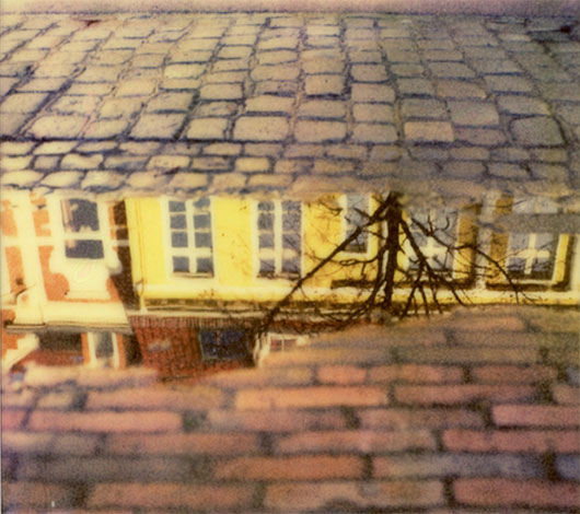polaroid puddle by Paul A. Rizer