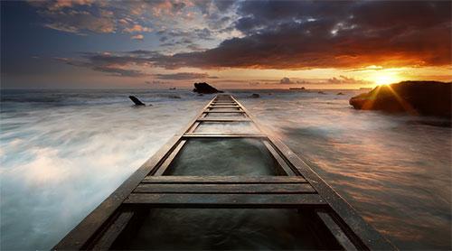 Last light by Mirko Rubaltelli