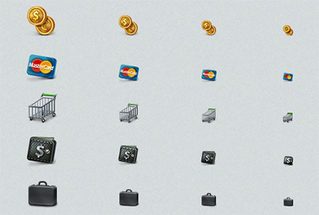 Business and e-Commerce Icons Set