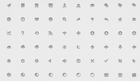 Assorted Pixel-Perfect 14px Icon Set