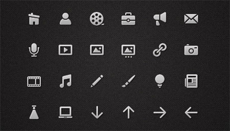 Icons for a Menu