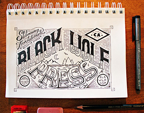 Black Wolf Press by Jason Carne