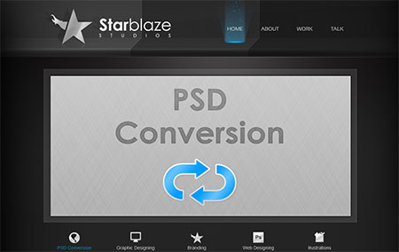 StarBlaze HTML Template