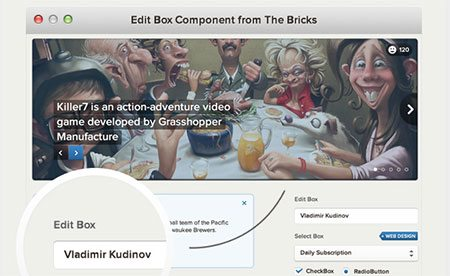 The Bricks – User Interface Framework