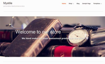 Mystile is a clean, lightweight WooCommerce theme