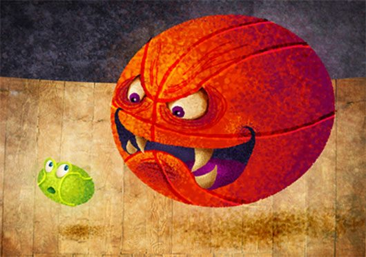 Monster Ball Is Hungry by Ingvard the Terrible