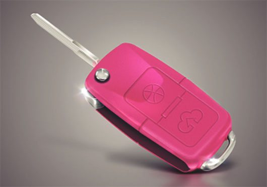 Dribbble Key by Pedro Vidotto