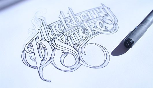 Hand Lettering II by Martin Schmetzer