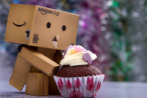 Danbo ~ Cup cake by Abdullah AlHarbi