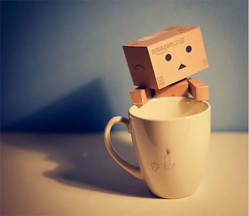 Danbo Coffee by Mottoboy