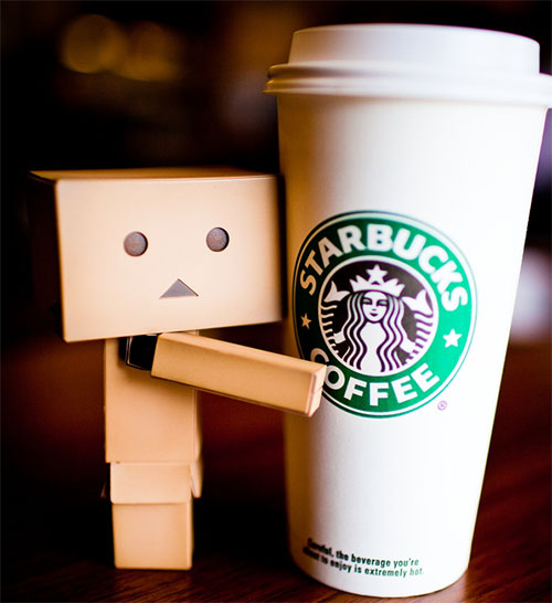 I love Starbucks by Stanford Moore