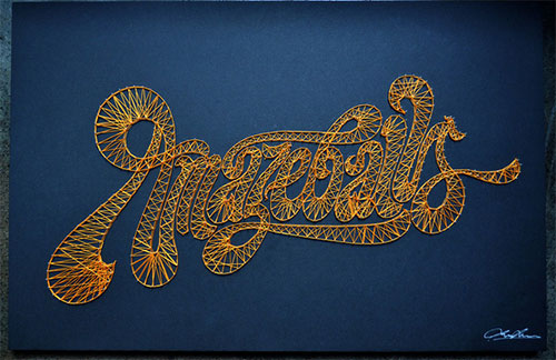 Amazeballs  Who Shot The Serif by Luke Lucas