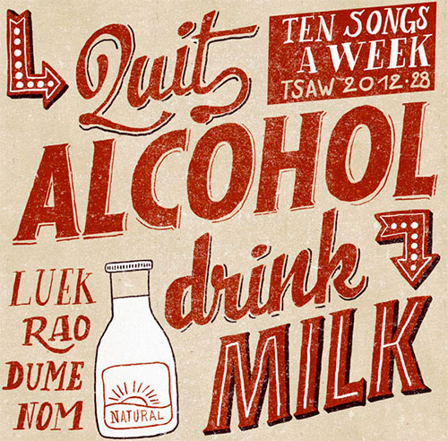 Quit Alcohol... Drink Milk by Jean Mosambi