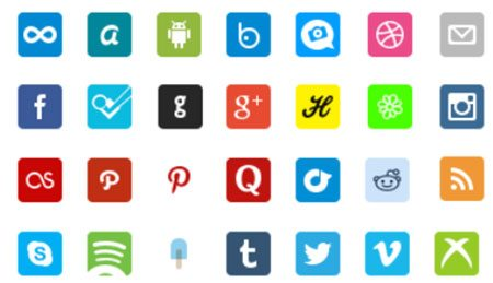 Social Icon Pack by Gavin Elliott