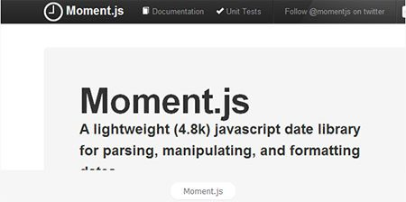 Quick Tip: Handle Date and Time Like a Boss with moment.js