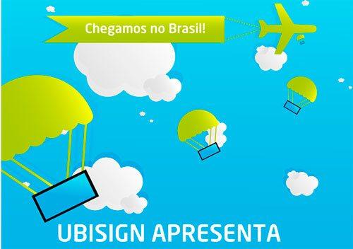 """""""Chegamos ao Brasil"""""""