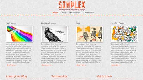 Simplex Responsive