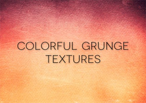 Colorful Grunge Textures by Florin Gorgan