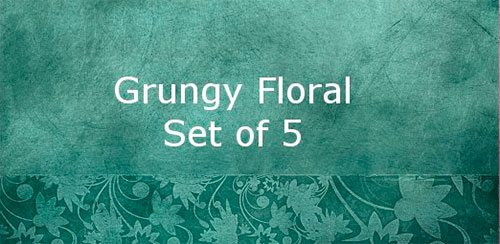Grungy Floral by beilart