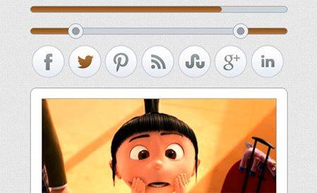 PSD Simple Web UI Kit & Web Interface Elements