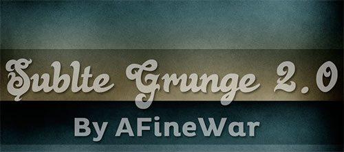 Subtle Grunge II by AFineWar