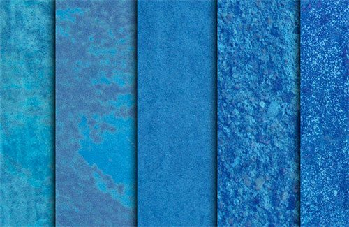 Blue Grainy Grunge Textures by sdwhaven