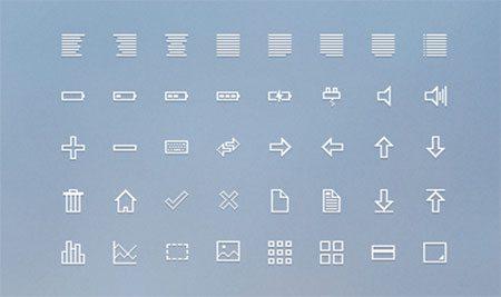 16px Icon Set