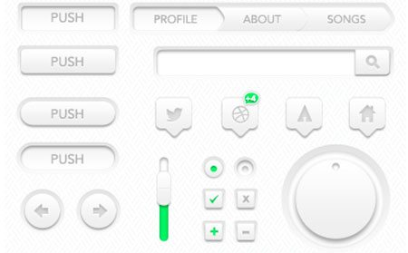 Fresh UI by Aaron Legaspi