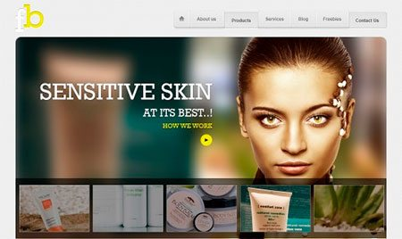 Beauty Products Template