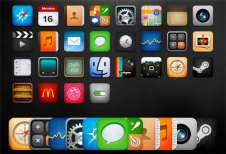 iOS Icon Pack v5 by Michael Shanks