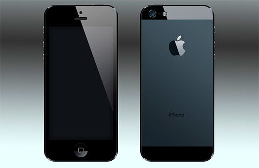 iPhone 5 PSD by bmprc