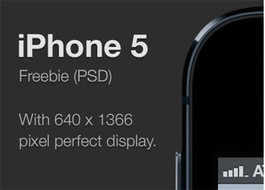 iPhone 5 freebie by Roy Abbink