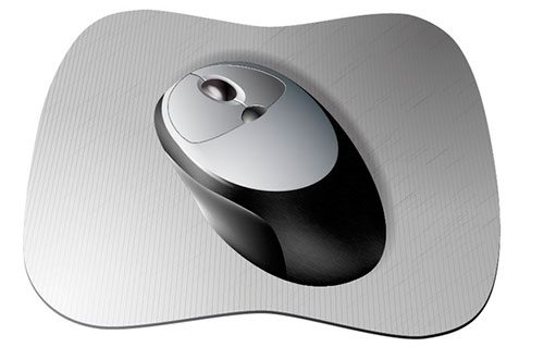 Create a Cordless Mouse and Pad with Vector Textures