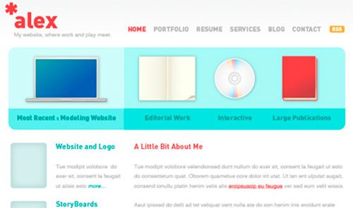Create a Clean Website Layout