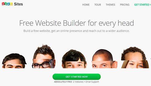 Zoho Sites