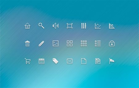Pixel Icons Dribbble by Tomas Korosi