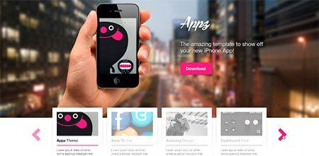 Appz PSD Theme