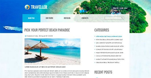 Travel Site