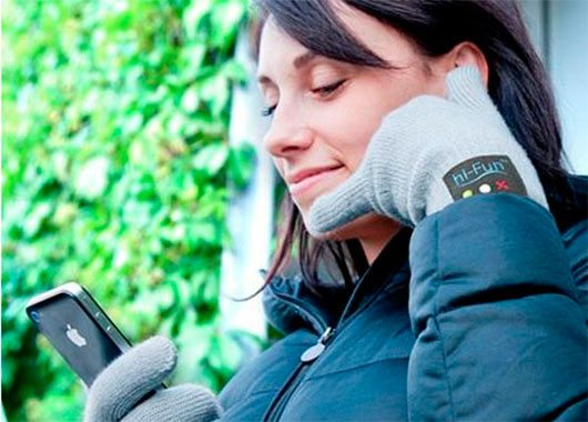 Bluetooth Handset Gloves