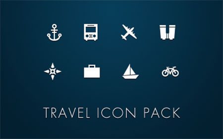 Travel Icons by Gavin Elliott