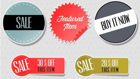 Ecommerce Sticker Pack by Stephanie Cain