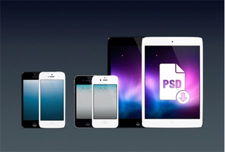 iPhones & iPad minis by Anton Kudin