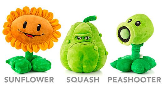 Plants vs. Zombies Deluxe Plush